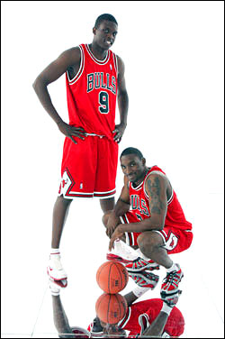 Luol Deng and Ben Gordon