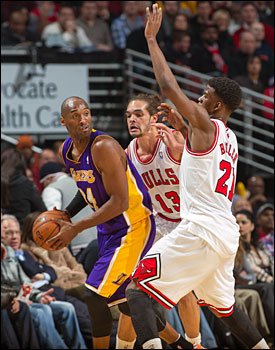 Noah and Butler defend Kobe