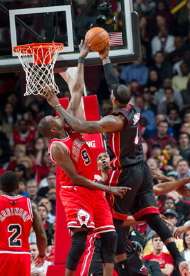Luol Deng, LeBron James