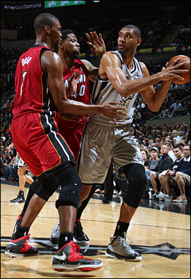 Tim Duncan, LeBron James