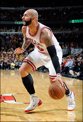 Carlos Boozer shot the ball well for 16 points and 10 rebounds, and even opened the game driving to the basket and rebounding his own misses twice to score.