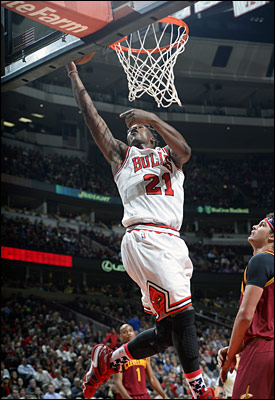 Butler and the Bulls never surrendered the lead late in the game, pulling away down the stretch to get to 3-3.