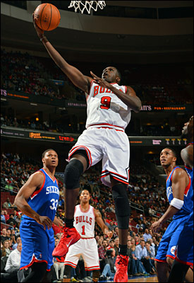 Deng and the Bulls will be back in action Wednesday when they visit the Indiana Pacers.