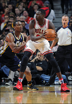 Luol Deng had one of the best all around games of his career with 19 points, 11 rebounds, nine assists and five steals.