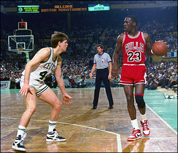 In 1986, Jordan's point was once you give in and accept losing no matter the supposed reward, you become a loser. Though not parallel circumstances, Smith explains, this season's team is in a somewhat similar situation as those 1985-86 Bulls.