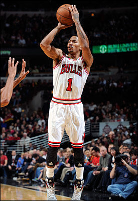 In the last two games, Chicago has shot 18-for-35 (.514) from behind the arc.