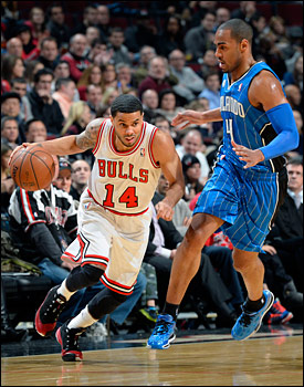 Recently acquired D.J. Augustin had his best game as a Bull with 14 points and eight assists. He replaced Marquis Teague as a starter to open the second half and likely moved ahead of Teague, who was scoreless and without an assist or point and three misses in 10 minutes.