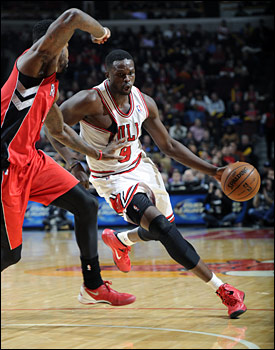 """It's not always going to go your way,"" said Deng. ""I've been on the winning side and losing side. When things aren't going your way, you've got to work harder and get things right. You can't let it beat you up."""