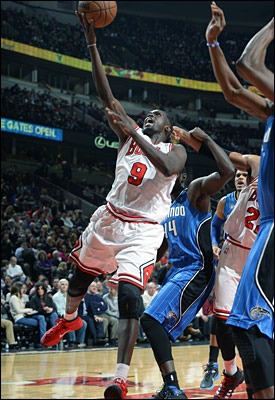 Luol Deng with 26 points and Mike Dunleavy with 14 off the bench were the only players to shoot at least 50 percent.