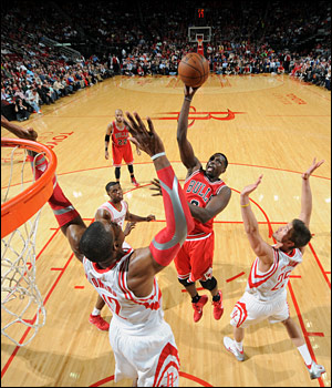 Deng scored 18 for the Bulls, now 9-15 as they head into Oklahoma City Thursday for another national TV game.