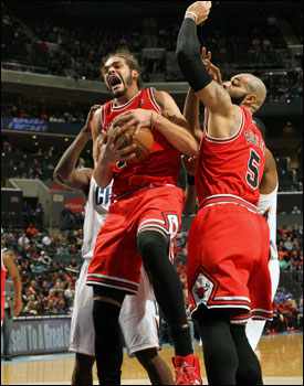 """""""Noah's passion and commitment is perhaps most important for the spirit and determination of this Bulls team,"""" writes Smith. """"But they don't count steps run, chests pounded and dives on the floor on the scoreboard."""""""