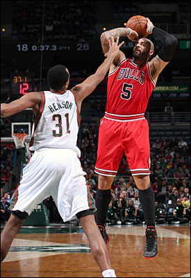Boozer is expected to be back in the lineup as the Bulls go for a fourth consecutive win Friday night in Milwaukee.