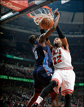 Taj Gibson had 12 points, eight rebounds, three blocks and some booming dunks.
