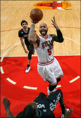 """In this league,"" said Boozer recently, ""you have to have short term memory. Forget about a bad game. Or a good game. And move on."""