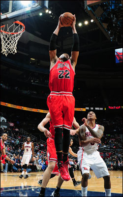 Gibson and the Bulls are back at the United Center on Wednesday to host the Warriors.
