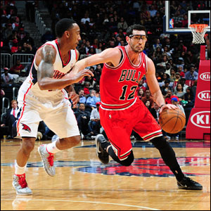 """""""Kirk was huge,"""" said Noah of Hinrich. """"He hit big free throws and he had a steal. He brings that energy on the defensive end and makes sure that everybody is in the right spot on the offensive end."""""""