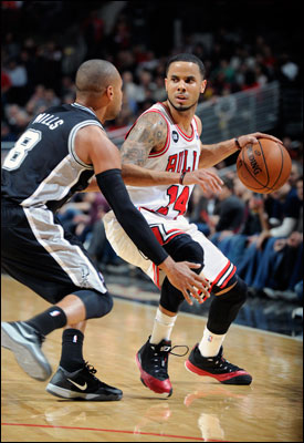 """""""They're a great team, championship team,"""" said D.J. Augustin, who led the Bulls with 24 points. """"Around this time they are making their push for the championship."""""""