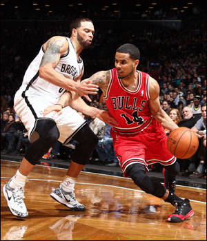 """I think we had all intentions to play hard, but it didn't show,"" said D.J. Augustin, who led the Bulls with 16 points."