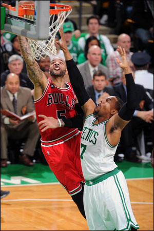 Carlos Boozer had 14 points on seven of 10 shooting.