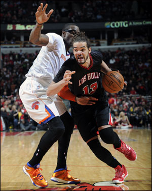 """""""People really counted us out,"""" noted Noah. """"Just to be in this position feels good. We're happy; we're not satisfied. We're hungrier than ever. We feel we're the hungriest team playing in the NBA. When you get that feeling, it's good."""""""