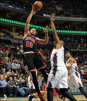 """I think we put ourselves in a pretty good position,"" said Joakim Noah, who had 14 points, 13 rebounds and six assists in the loss that left the Bulls with a 48-34 record for the season. D.J. Augustin led the Bulls with 17 points."