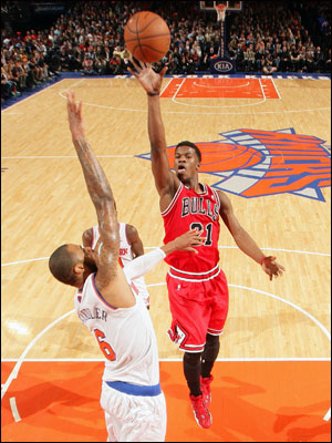 Chicago was led by Jimmy Butler with 17 points. But the Bulls shot 39.2 percent and were six of 22 on threes.