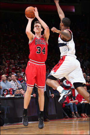 """""""He always played big when it counted,"""" says his father, former NBA player, coach and executive Mike Dunleavy Sr."""