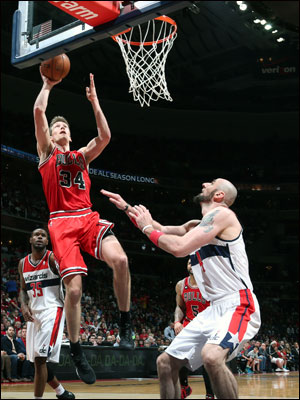 The Wizards Sunday with Bradley Beal relentlessly shadowing Dunleavy–and John Wall with 15 points and 10 assists disrupting the point guards with physical overplaying–helped limit Dunleavy to six points on three of eight shooting and none in the first half.