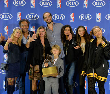 Love of his family, who was there Monday when Noah received the Kia NBA Defensive Player of the Year award, love of his teammates, whom he credited for his success, love of the fans, who thrill to his passion, and love of the game, a love that is on display every moment Noah is on the basketball court, a life long flame that has rarely flickered.