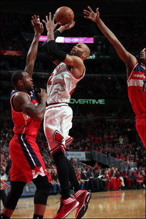 Game 3 for Gibson and the Bulls against the Wizards will take place Friday night at 7:00 p.m. on CSN and ESPN.