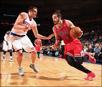 """It was disappointing,"" said Joakim Noah, who barely missed a triple-double again with 13 points, 17 rebounds and nine assists."