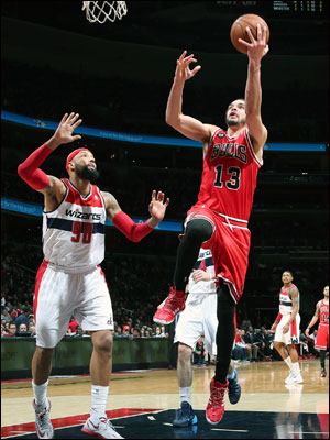 Joakim Noah and the Bulls closed out the 2013-14 campaign at 48-34, but it was down the stretch in which the team was it its best.