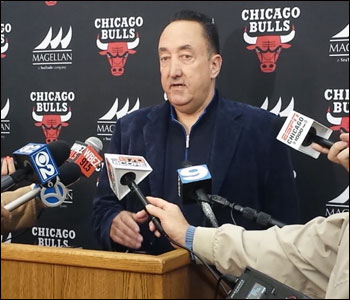 """We have a big summer in front of us,"" Bulls general manager Gar Forman told reporters at the Berto Center Wednesday after exit meetings with players."