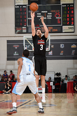 First round pick Doug McDermott scored 31 points with five of nine three-pointers in the Bulls' 103-76 summer league victory to go to 2-0.